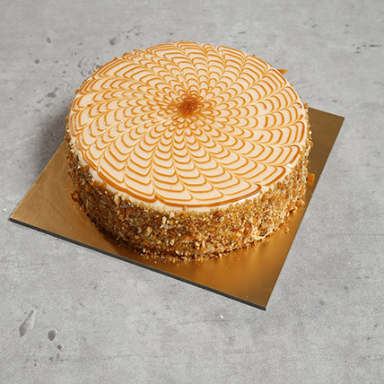 1Kg Yummy Butterscotch Cake BH: Send Cakes to Bahrain