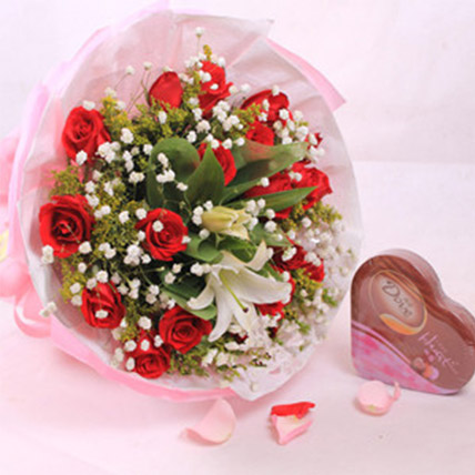 Love For Red Roses and Chocolates: Send Gifts To China