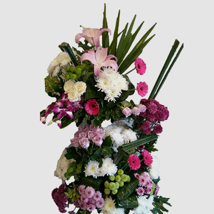 Vibrant Mixed Flowers Bouquet: Mothers Day Gifts in Egypt