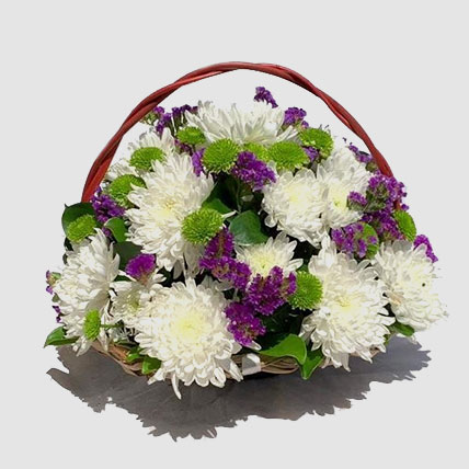 Beautiful Mixed Flowers Arrangement: Flower Delivery Egypt