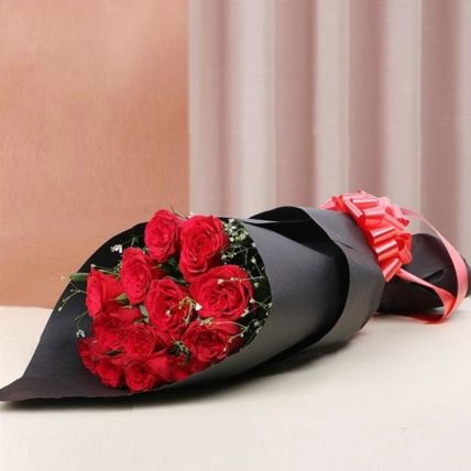 Celebrate Love Red Rose Bouquet: Send Gifts to Egypt