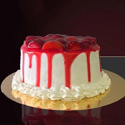 Scrumptious Strawberry Cake: Valentines Day Gifts to Jordan
