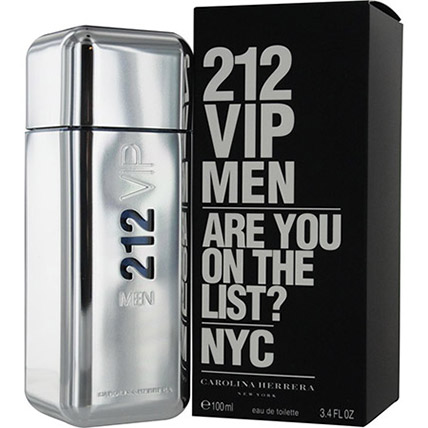 212 Vip Men by Carolina Herrera for Men EDT: Birthday Gifts for Dad