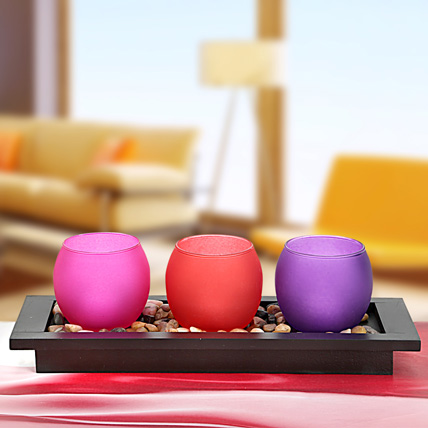 3 Vibrant T Lights: New Year Gifts