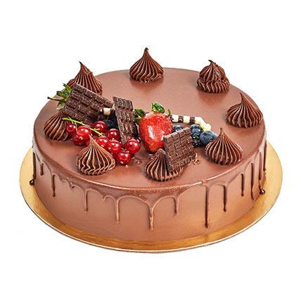 4 Portion Fudge Cake: Birthday Cakes for Men