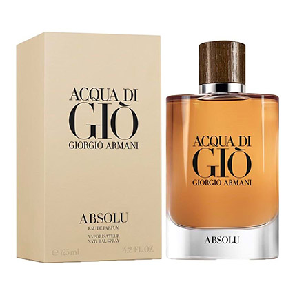 Aqua Di Gio Absolu by Giorgio Armani for Men EDP: Anniversary Perfumes