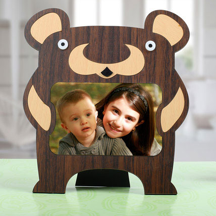 Bear Personalized Photo Frame: Personalized Gifts for Birthday