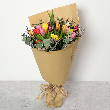Beautiful Tulips Bouquet: Tulips Flowers