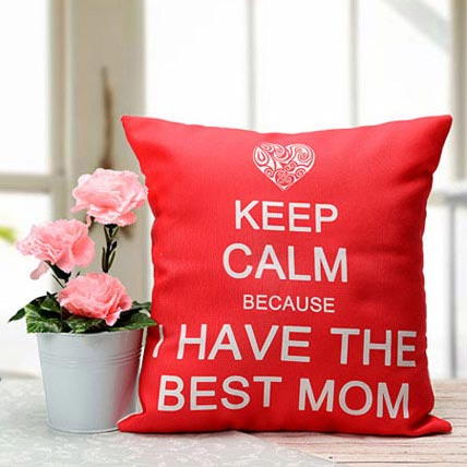 Best Mom Cushion: Mothers Day Personalised Gifts