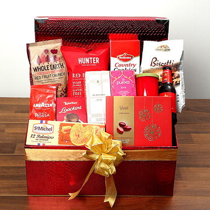 eef8f789444e Chocolate and Flavored Tea Hamper  Valentines Day Gift Hampers