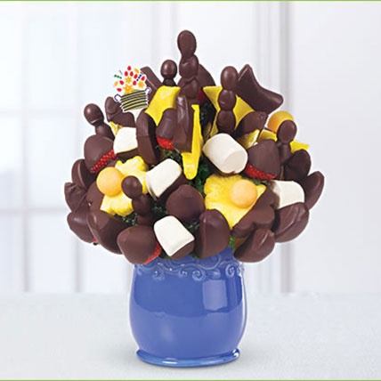 Dipped Fruit Bouquet: Chocolates