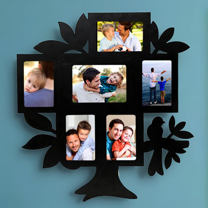Family Tree Personalized Frame: Personalized Fathers Day Gifts 2019