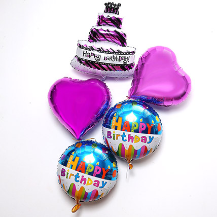 Happy Birthday Balloon Set: Balloons