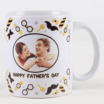 Happy Fathers Day Personalised Mug: Personalized Fathers Day Gifts 2019
