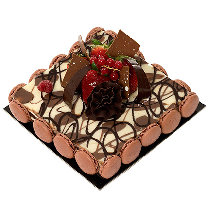 Marble Cake: Anniversary Cakes for Wife
