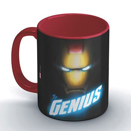 Marvel Ironman The Genius Coffee Mug: Unique Gifts