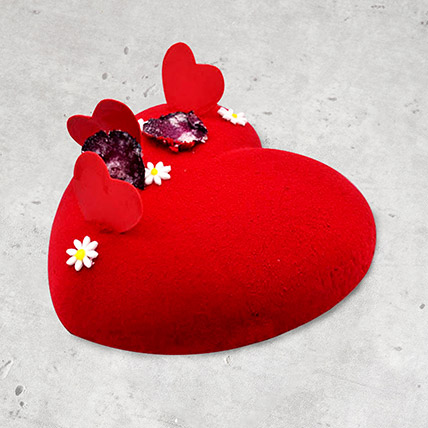 Mon Coeur Cake: Heart Shape Cakes for Valentine Day