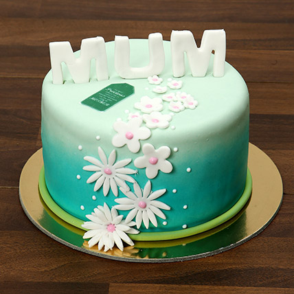 Mothers Day Fondant Cake 1 Kg: Mothers Day Cakes