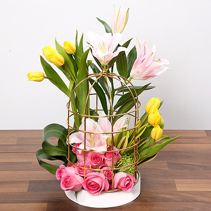 Paradisiacal Fantasy: Easter Flowers