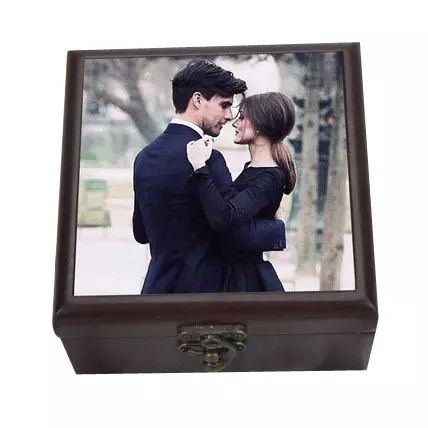 Personalized Wooden Box: Anniversary Personalised Gifts