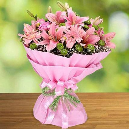 Pink Beauty: Mixed Flowers