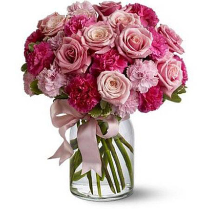 Pink Loves: Carnations Flowers