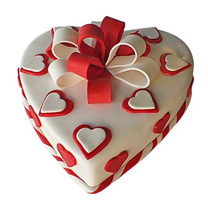 Red Ribbon Cake: Valentine Cakes to Umm Al Quwain