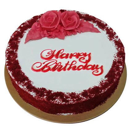 Red Velvet Birthday Cake Delivery In Fujairah