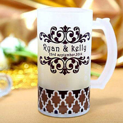 Special Personalize Beer Mug: Anniversary Personalised Gifts