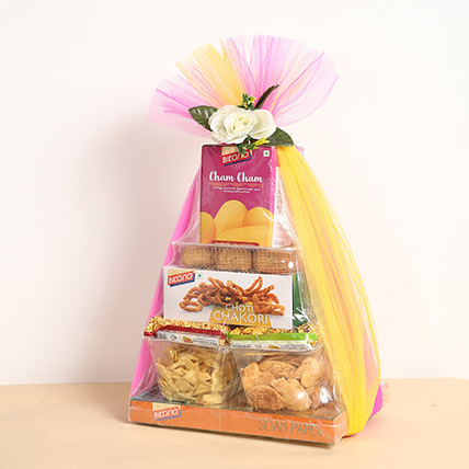 Sweets and Snacks Hamper:  Diwali Gifts 2018