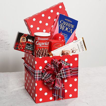 Tempting Chocolate Hamper: One Hour Delivery Gifts