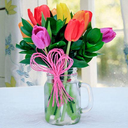 Tulip Arrangement: Easter Gifts