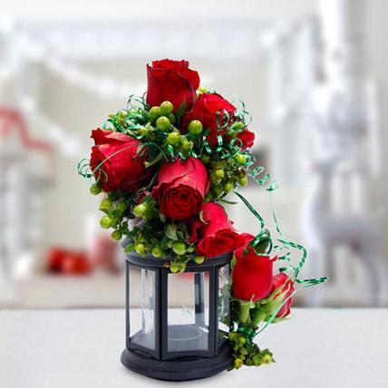 Joyful Gesture Bouquet: Candles