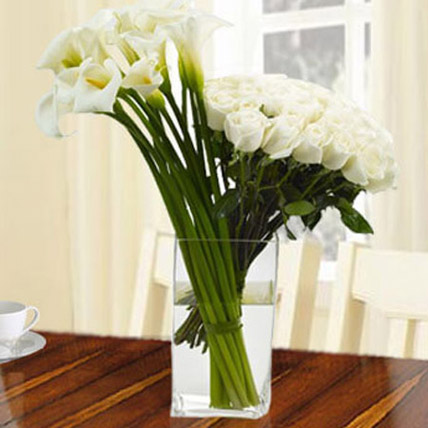 Garden Laughter Bouquet: Sympathy & Funeral Flowers to Abu Dhabi