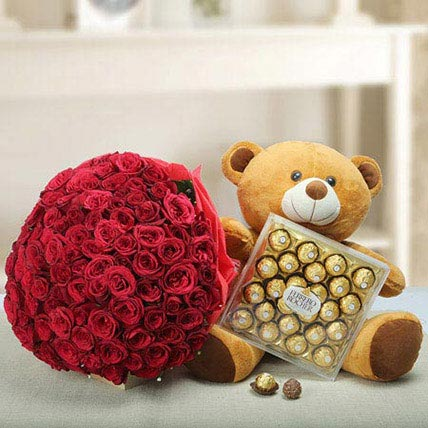 Say U Care: Valentines Day Flowers & Chocolates