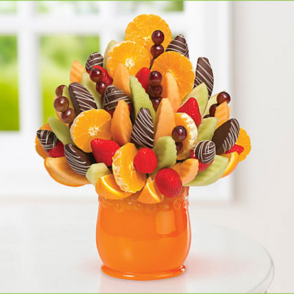 Orange Blossom with Swizzle Sampler: Edible Arrangements