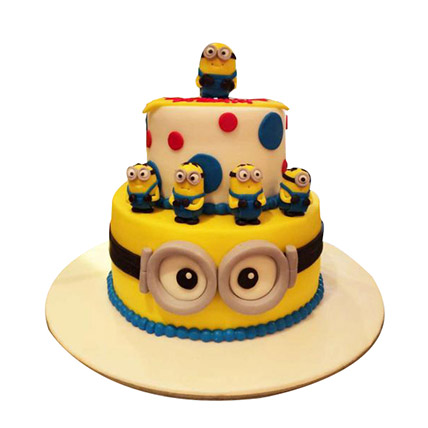 World of Minions Cake: Cartoon Cake