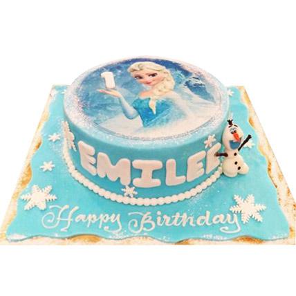 Elsa The Frozen Princess Cake: Frozen Birthday Cake