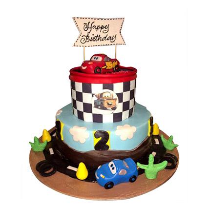 McQueen N Family Cake: McQueen Cakes