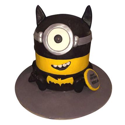 Minion Batman Cake: Minion Cakes