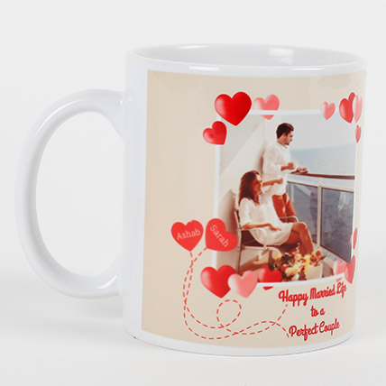 Perfect Love Personalized Mug: Anniversary Mugs