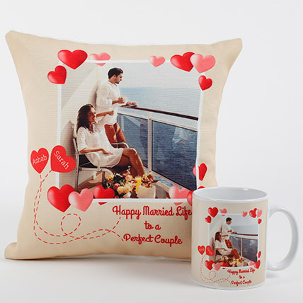 Perfect Love Personalized Combo: Personalised Gifts to Ajman
