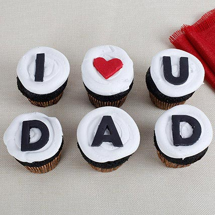 I Love You Dad Cupcakes: Fathers Day Gifts
