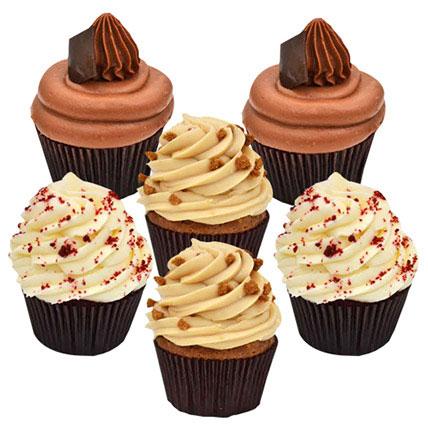 Yummy Cupcakes Six: Birthday Cupcake