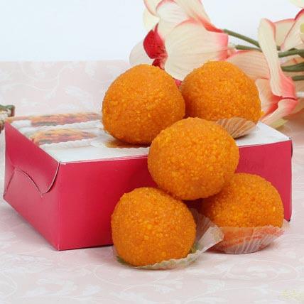 Motichoor Laddoo Box: Christmas Sweets In Dubai