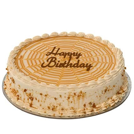 Butterscotch Birthday Cake: Birthday Cakes for Boyfriend