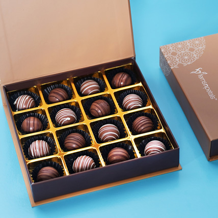Box of Gourmet Chocolate: Christmas Gifts for Kids