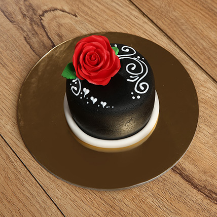 Designer Rose Mono Cake: Cakes Delivery for Mother