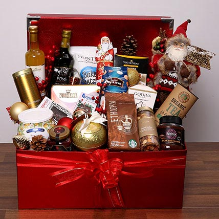 Mouthwatering Christmas Hamper: Christmas Gift Hampers