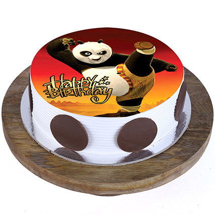 Kung Fu Panda Cake: Cartoon Cake
